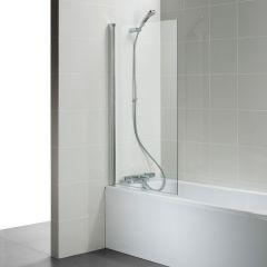 Connect T9923 Angle 80 Bath Scrn Sil/Clr