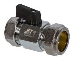 * Jet Bbv35 C/P Ball Valve + Lever 15