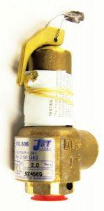 * Jet 806 Safety Valve Set @ 2.0 Bar 15