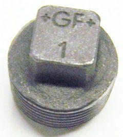 Gf-291S Plug (Solid)-Blk 1