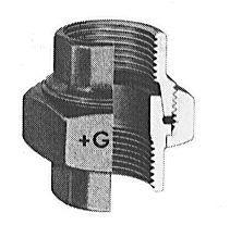 Gf-340 Union-Blk F X F 1/2