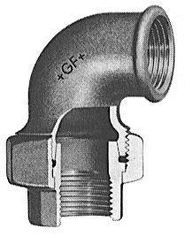 Gf-96 Union Elbow -Galv 1