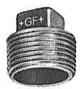 Gf-291 Plug (Hollow)-Galv 1 1/4