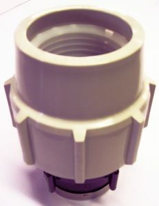 Plassone 7030 Female Adaptor Bsp Thread 63 X 2