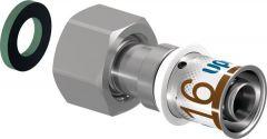 Upo S-Press Pls Adap Swvl Nut 16-G1/2 In