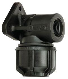 Philmac 3G Wall Plate Elbow 9022 20-1/2