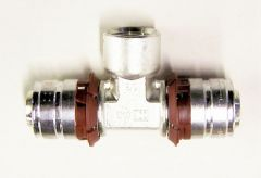 Uponor Mlcp Pressure Tee 25X1/2 Ft X25mm