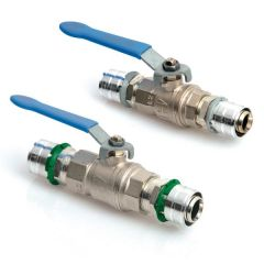 Uponor Compression Lever Ball Valve Mlcp 20Mm