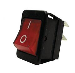 Lincat Ne14 Neon Rocker Switch - Red