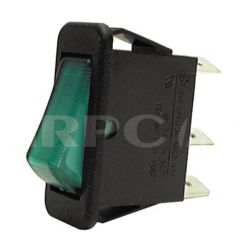 Lincat Sw53 Illuminated Switch - Green