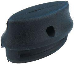 Hobart 886609 Pack 4 Black Rubber Plugs