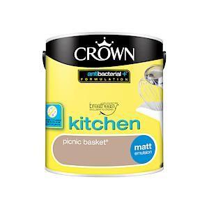 Crown Kitchen & Bathroom Matt Picnic Basket 2.5L