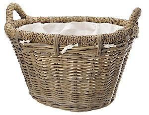 Rattan Basket Rosewood 0338