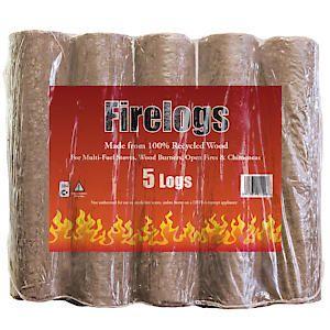 Cpl 5 Pack Fire Heat Logs