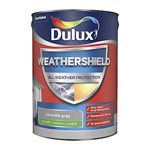 Dulux Weathershield Mason Smth Concr Grey 5L