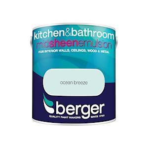 Berger Kitchen & Bathroom Sheen Ocean Breeze 2.5L
