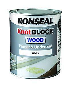 Ronseal Knotblock Prim+Ucoat Wh 2.5L