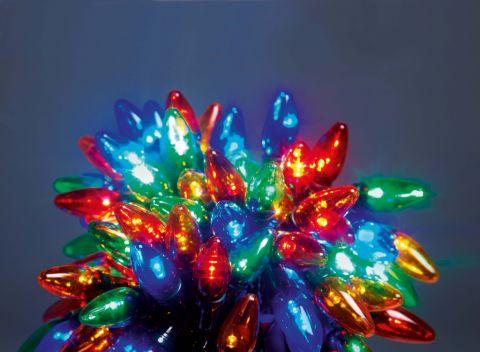 Multi Colour Led Lights Multi Action C6 Bulb