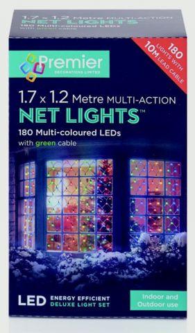 Multi-Action Led Net Lights