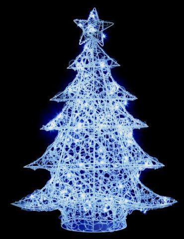 1M Acrylic Christmas Tree