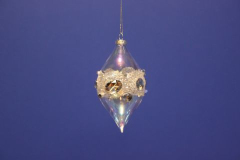 Jewelled Glass Drop