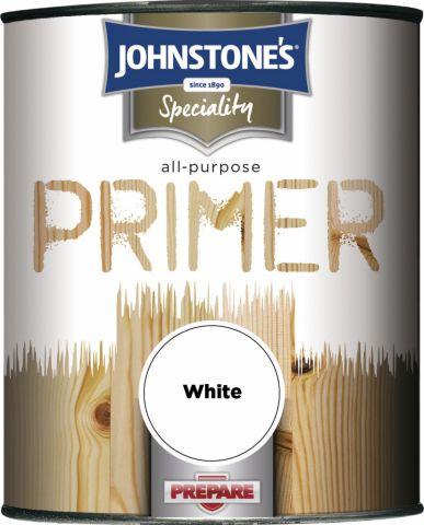 Johnstone's All Purpose Primer 250Ml White