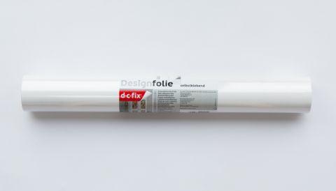 D-C-Fix� Plain Sticky Back Plastic 45 X 15 Matt White