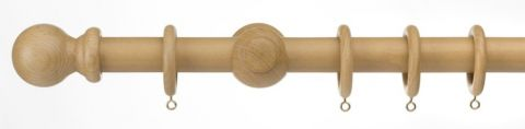 Universal Wood Pole Kit Natural 180Cm