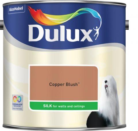 Dulux Silk 2.5L Copper Blush