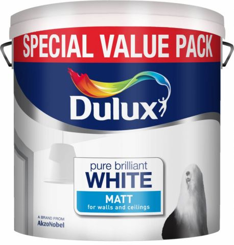 Dulux Matt 6L Special Value Pure Brilliant White