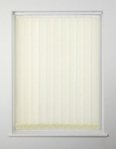Swish Cordless Vertical Blind 183 X 228Cm Cream