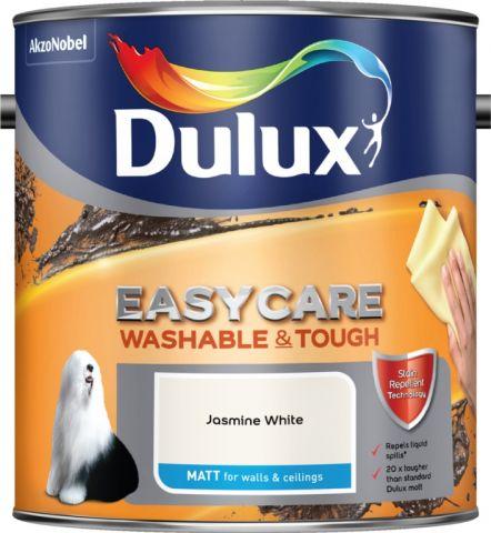 Dulux Easycare Matt 2.5L Jasmine White