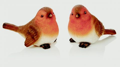 Robin Ornament Asst