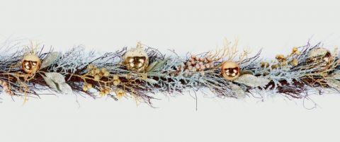 Gold Rattan Garland