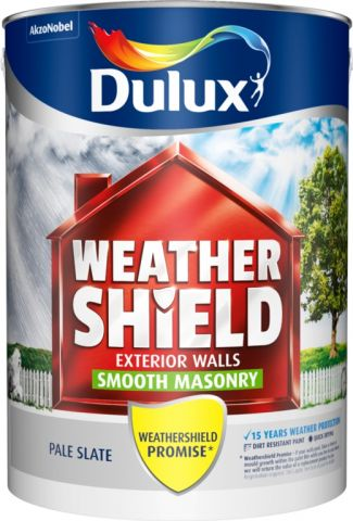Dulux Weathershield Smooth 5L Pale Slate