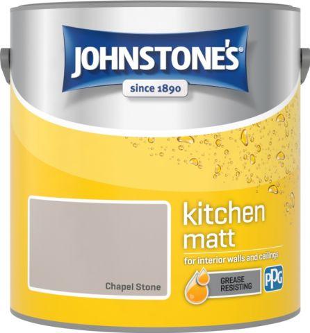 Johnstone's Kitchen Matt 2.5L Chapel Stone