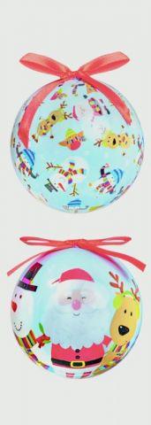75Mm Santa & Friends Balls