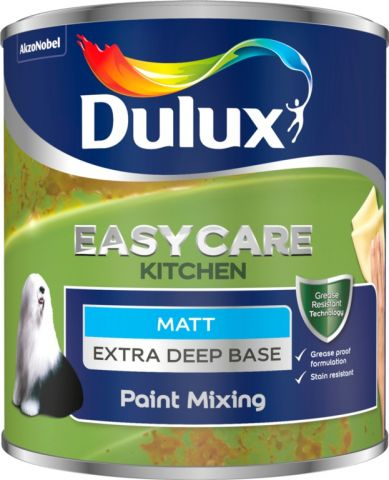 Dulux Colour Mixing Kitchen Matt Base 1L Extra Deep