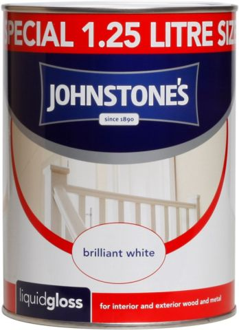 Johnstone's Liquid Gloss - Brilliant White 1.25L