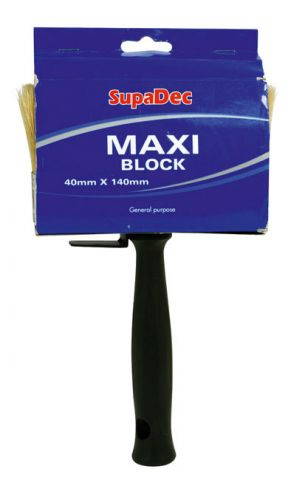 Supadec Maxi Block Brush 40Mm X 140Mm