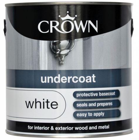 Crown Undercoat 2.5L Pure Brilliant White