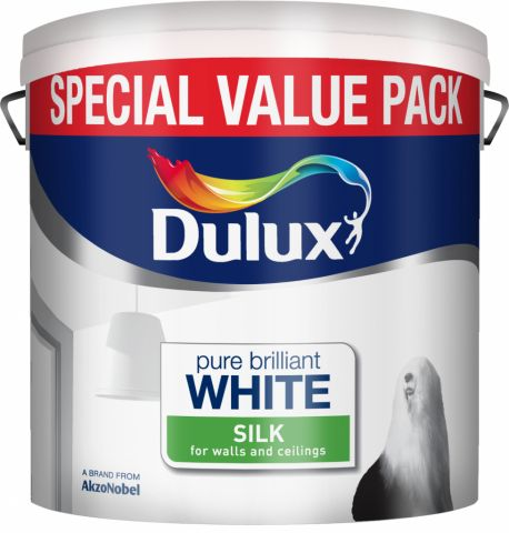 Dulux Silk 6L Pure Brilliant White