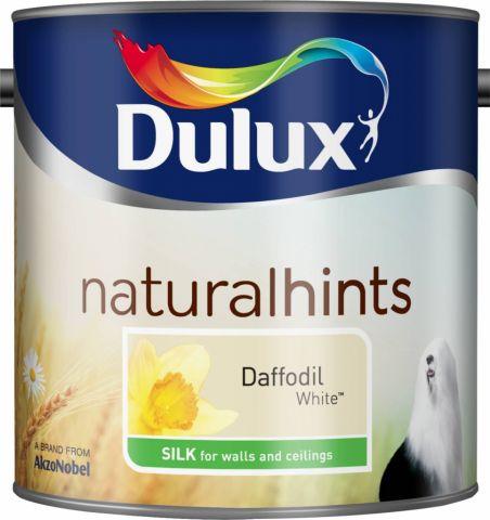 Dulux Natural Hints Silk 2.5L Daffodil White