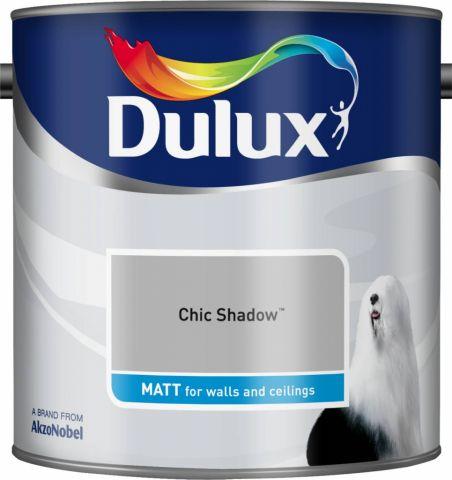 Dulux Matt 2.5L Chic Shadow
