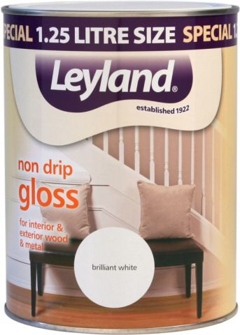 Leyland Non Drip Gloss 750Ml Emerald