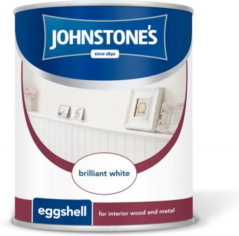 Johnstone's Eggshell 2.5L Brilliant White