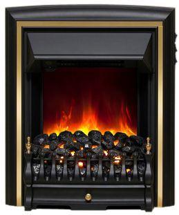 Be Modern Comet Electric Fire Black