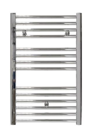 Tradefix Straight Towel Rail And Mrv Pack 772 X 450Mm Chrome