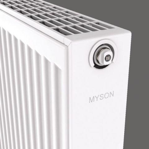 Myson Select Compact Single Convector Radiator 500 Mm X 500 Mm 1407 Btu/H