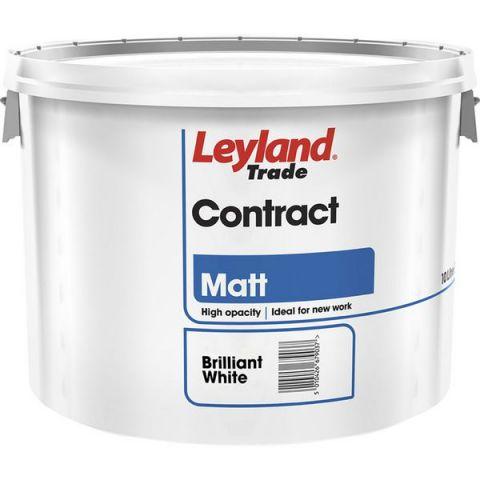 Leyland Contract Matt B/White 10L